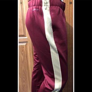 Florida State Seminoles FSU Fleece NIKE Med Pants